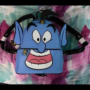 Loungefly Disney Aladdin Genie mini Backpack